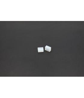 Силиконовая торцевая крышка для LED ленты 8 мм