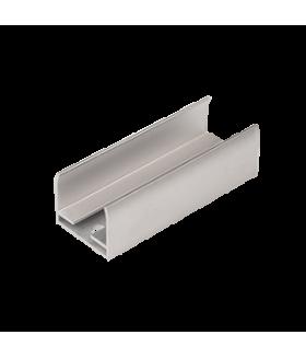 Комплект алюминиевых скоб для монтажа ленты NEON 24 V (диаметр 17 мм), 45 шт в упаковке