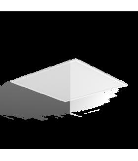 """Светильник LED """"ВАРТОН"""" панель 595х595х10 мм 34W 4000K диммируемый по DALI аварийный автономный постоянного действия (драйвер в комплекте)"""