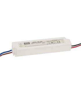 Драйвер 18 Вт 24V для светодиодной ленты Meanwell IP67 140x30x20 мм