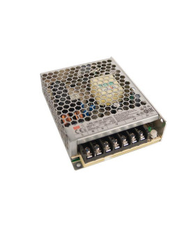 Драйвер 100Вт 24V для светодиодной ленты Meanwell LRS-100-24 IP20 129x97x30 мм